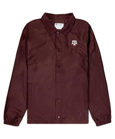 Texas A&M Champion Men's Coaches Jacket