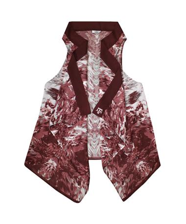 Texas A&M Kara Abstract Vest
