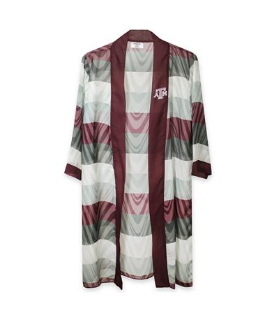 Texas A&M Lisa Illusion Striped Cardigan
