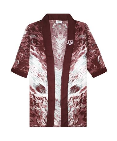 Texas A&M Lisa Abstract Blouse