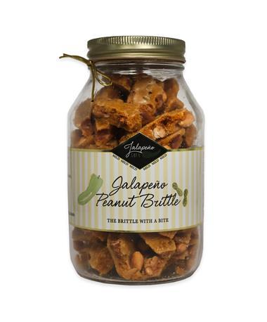 Jalapeño Gold Peanut Brittle - Front Multi