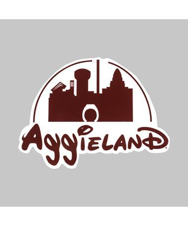 AggieLand Castle Dizzler Sticker