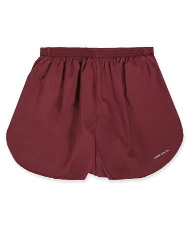 "Maroon BOA 1.5"" Split Tracker Shorts"