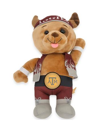 Texas A&M Plush Wrestler Dog