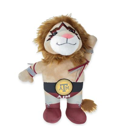 Texas A&M Lion Wrestler Stuffed Animal