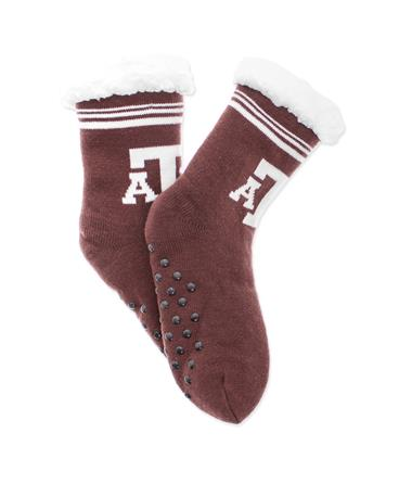 Texas A&M Footy Slippers