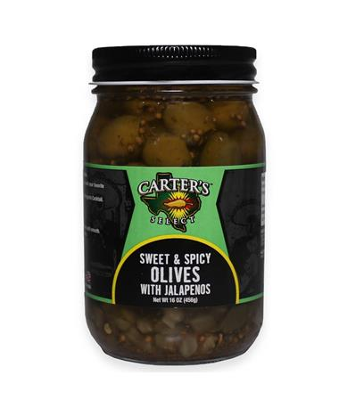 Sweet & Spicy Olives - Front Multi