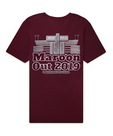 2019 Maroon Out T-Shirt - Back Maroon