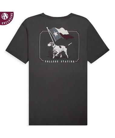 Texas A&M Bird Dog Pocket Tee