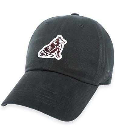 Texas A&M Play Reveille Patch Cap - Front Charcoal