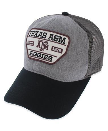 Texas A&M Aggies 1876 Score Mesh Cap