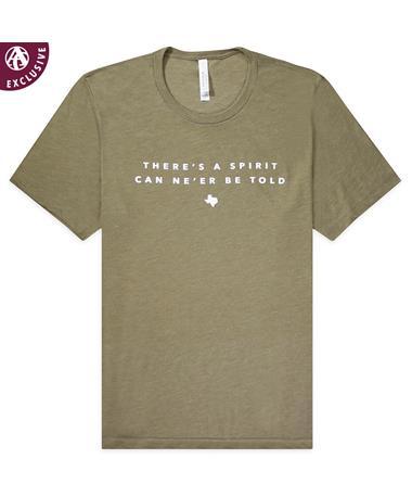 Texas A&M Spirit Can Ne'er Be Told T-Shirt