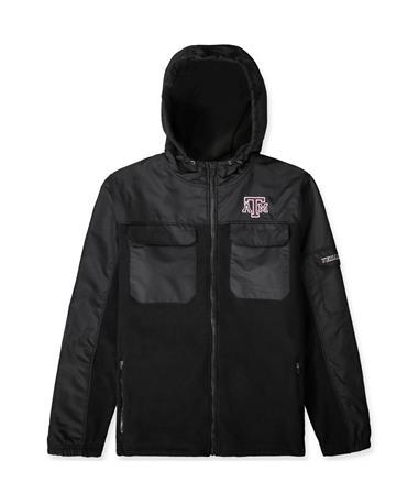 Texas A&M Colosseum Austero Full Zip Jacket BLACK