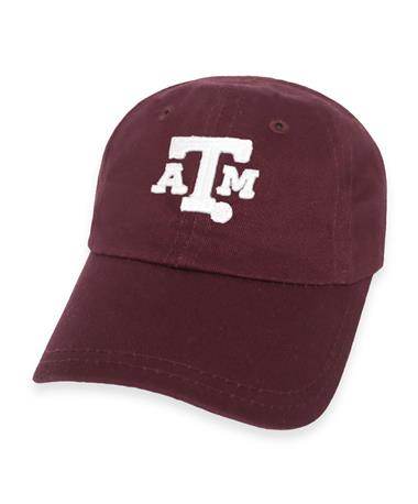 Texas A&M Toddler Ball Cap-Front Maroon - Texas A&M