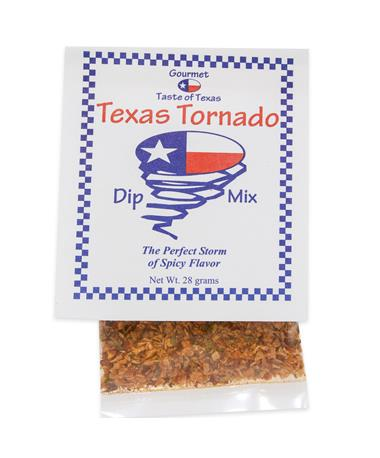Gourmet Taste of Texas Tornado Dip Mix - Front Multi