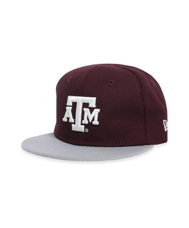 Texas A&M Infant New Era Block ATM Cap-Front Maroon