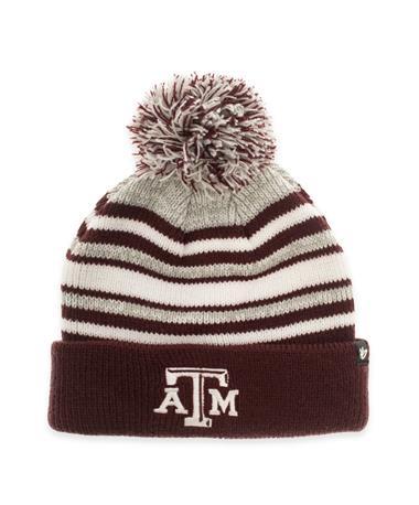 Texas A&M Youth Bubbler Cuff Knit Beanie Maroon