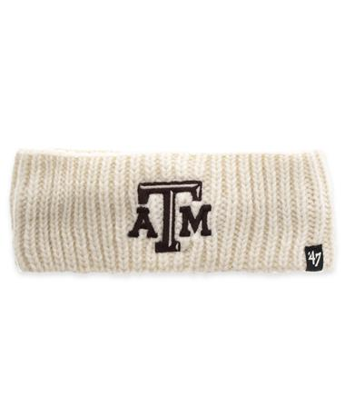 Texas A&M `47 Women`s Headband-Front SANDSTONE