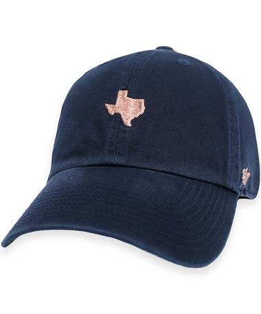 Texas A&M '47 Brand Navy Centerfield Clean Up Cap