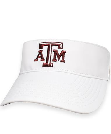 Texas A&M '47 Brand White Elliot Visor