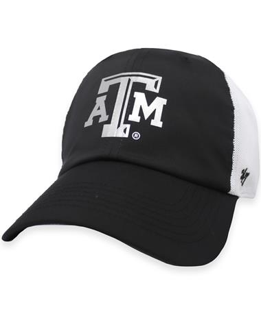 Texas A&M '47 Brand Black Hyper Tech Clean Up Hat