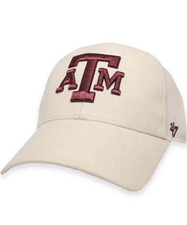Texas A&M '47 Brand Natural Block ATM Structured Cap