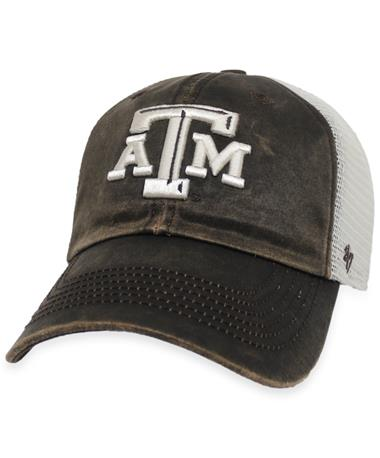 Texas A&M '47 Brand Oil Cloth Mesh Clean Up Cap