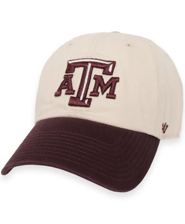 Texas A&M '47 Brand Two Tone Clean Up Cap