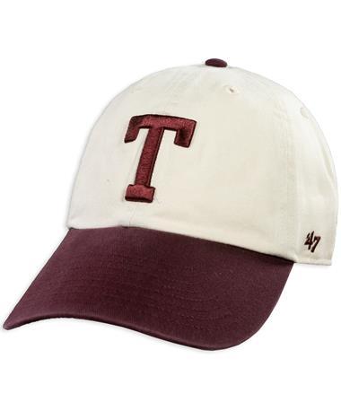Texas A&M '47 Brand Two Tone Block T Cap