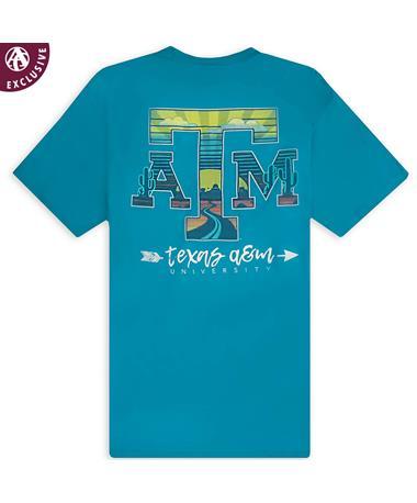 Texas A&M All Roads Lead to Aggieland T-Shirt