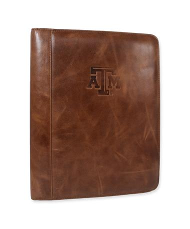 Texas A&M WESTBRIDGE PADHOLDER-Front Verticle TAN