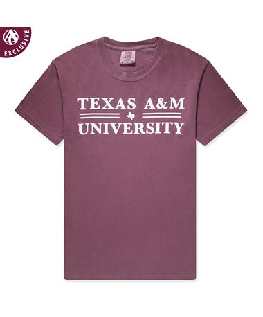 Texas A&M Double Line T-Shirt