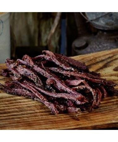 Prasek's SmokeHouse Peppered Beef Jerky