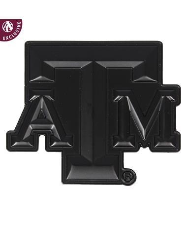 Texas A&M Matte Black Block Emblem