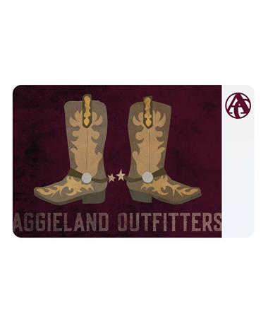 Aggieland Outfitters Boots & Spurs E-Gift Card