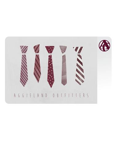 Aggieland Outfitters Neckties E-Gift Card