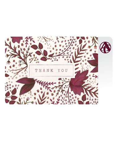 Aggieland Outfitters Thank You E-Gift Card
