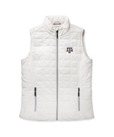 Texas A&M Rainier Vest-Front Coconut