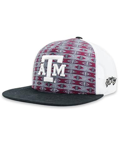 Texas A&M Hooey Aztec Pattern Chiseled Cap