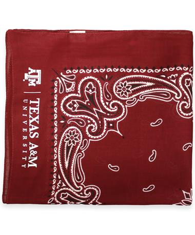 Texas A&M Aggie Bandana WINE