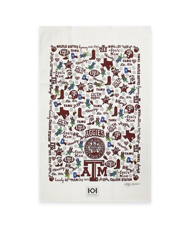 Texas A&M Traditions Tea Towel