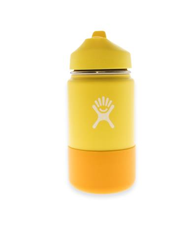 Kid`sYellow 12oz Hydro Flask Cup LEMON