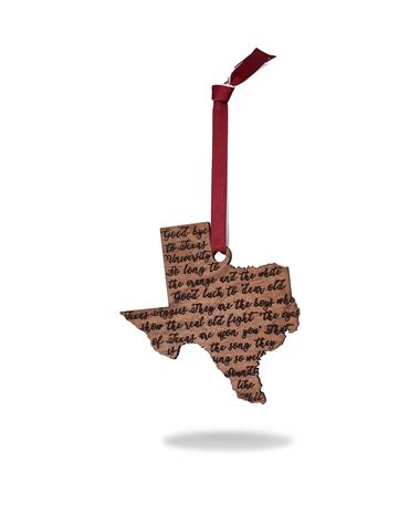 Texas A&M Aggie War Hymn Ornament