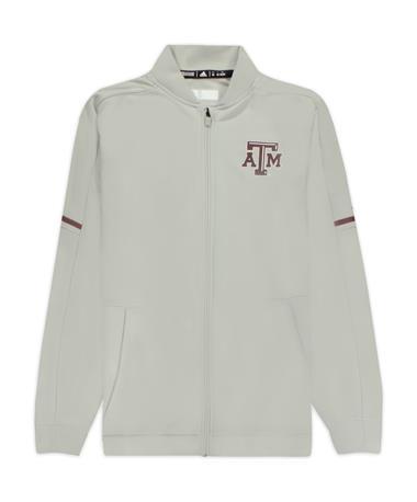 Texas A&M Adidas Warm Up Jacket