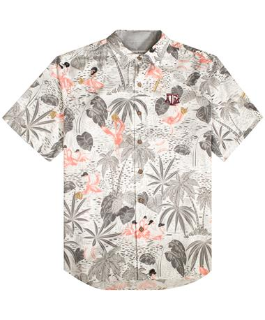 Texas A&M Tommy Bahama MLB Flamingo King Shirt