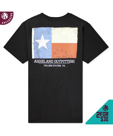Texas A&M Aggieland Outfitters Texas Flag T-Shirt