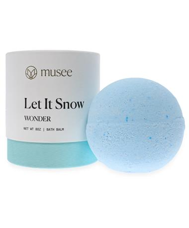 Musee Therapy Bath Bomb Let It Snow