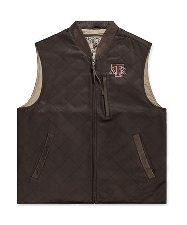 Texas A&M Madison Creek Kennesaw Conceal Carry Quilted Vest