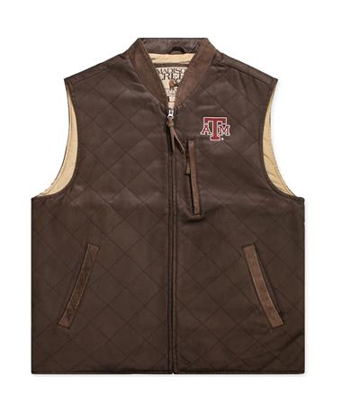 Texas A&M Madison Creek Quilted Pagosa Vest