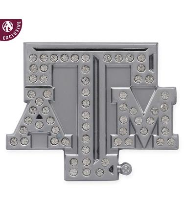 Texas A&M Rhinestone Emblem